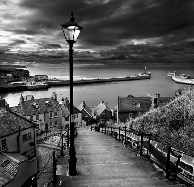 Whitby Lampost